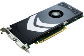 NVidia GeForce 8000 or 9000 Series Graphics cards (and upwards)